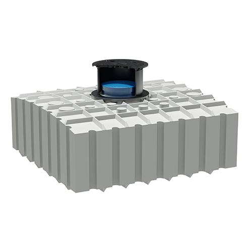 Unikalne Zbiornik wody pitnej płaski 4200 l / GFTW 4.2 • Green Water Solutions EG75