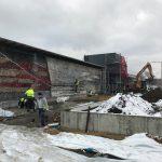 Budowa Ekologocznego dworca IDS Oświęcim